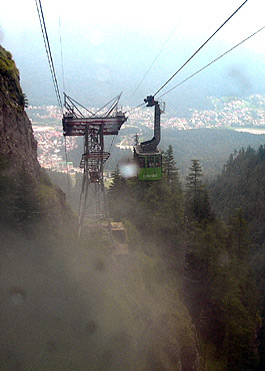 Busteni Cable Car