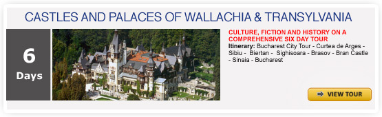 CASTLES AND PALACES OF WALLACHIA & TRANSYLVANIA