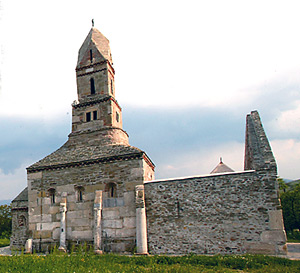 Densus Church - a jewelry in Hateg County