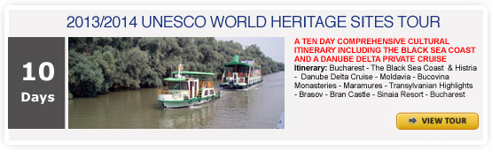 UNESCO WORLD HERITAGE SITES TOUR - ROMANIA