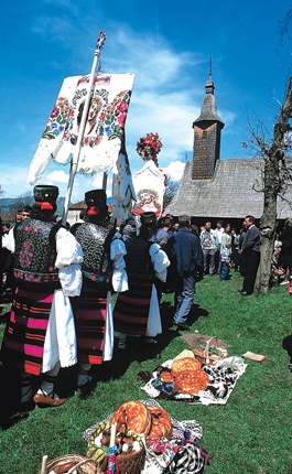 Holidays and Festivals in Maramures - Easter