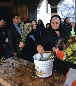 Holidays and Festivals in Maramures - Palm Sunday (Duminica Floriilor)