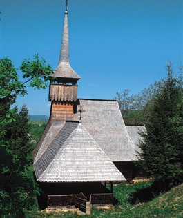 Wooden Churches - Calinesti Caieni