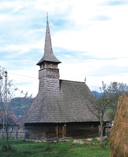 Wooden Churches - Cupseni St. Elijah