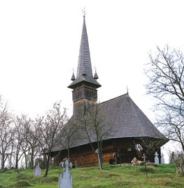 Wooden Churches - Cupseni Holy Archanghels