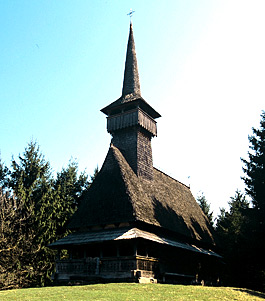 Wooden Churches - Oncesti