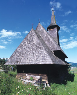 Wooden Churches - Rona de Jos