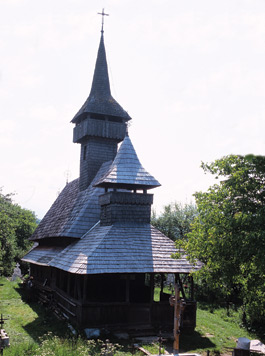 Wooden Churches - Salistea de Sus