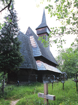 Wooden Churches - Sarbi Josani