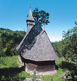 Wooden Churches - Valea Stejarului