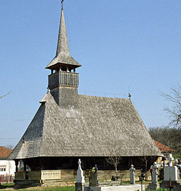 Wooden Churches - Valenii Somcutei