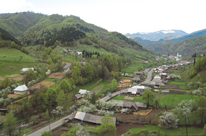 Maramures Mountains and the Viseu and Vaser river Valley
