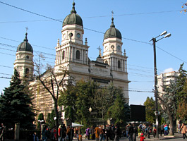 Churches from Iasi - The Metropolitan Cathedral