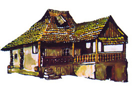 Traditional Houses, Romania - Naruja (Vrancea County)