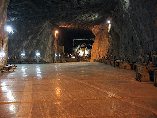 Praid salt mine