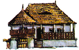 Traditional Houses, Romania - Traisteni (Prahova County)