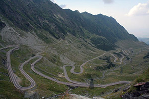 Transfagarasan road - Fagaras Mountains