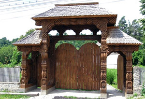 Traditional gate - Oltenia